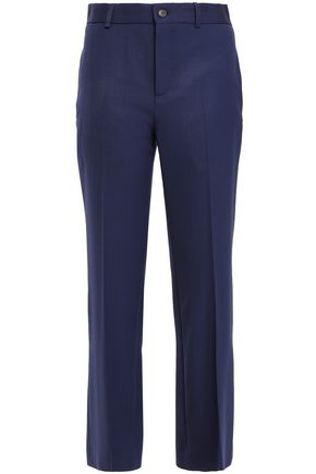 BALENCIAGA Wool-blend twill flared pants