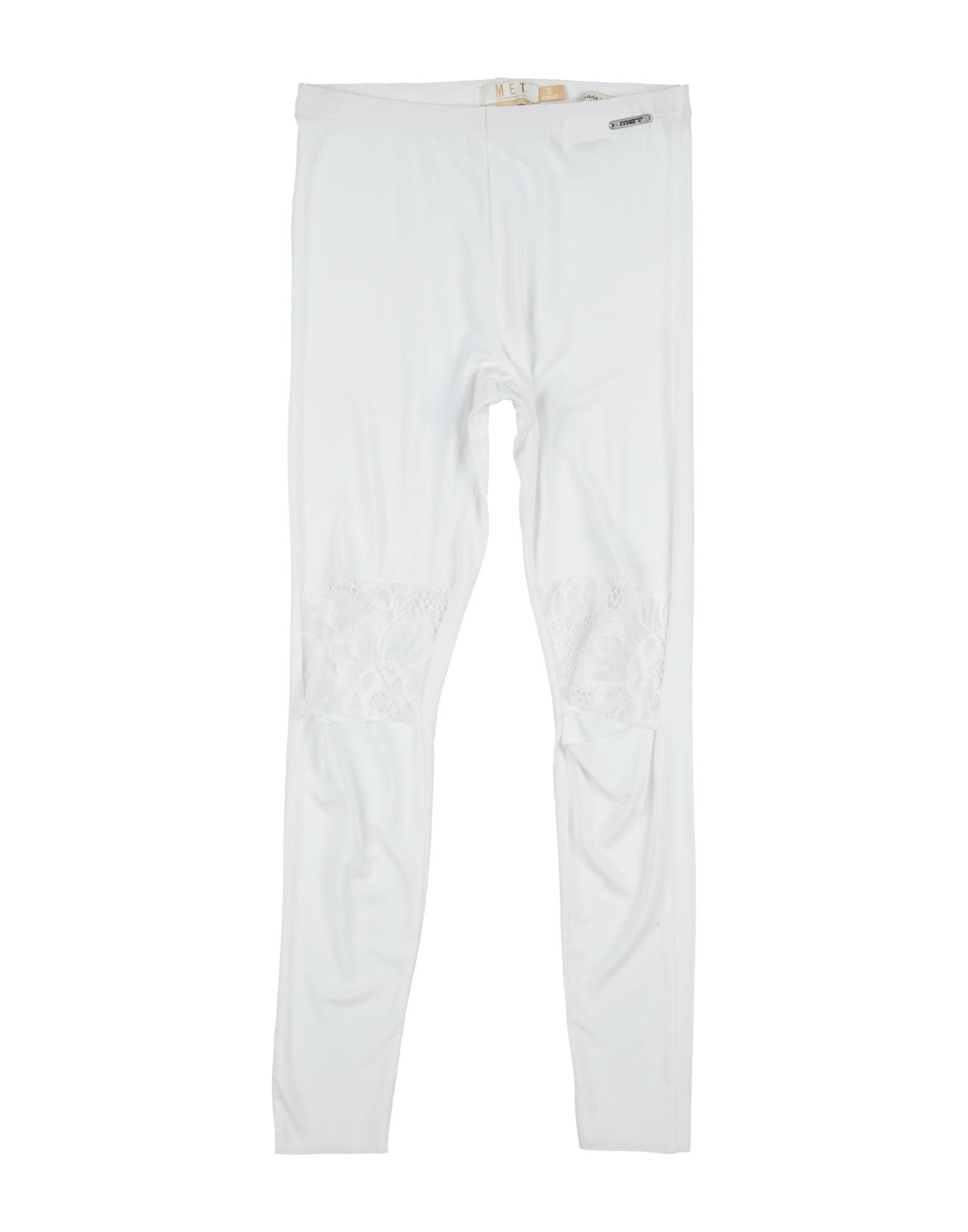 Met Jeans Kids' Leggings In White