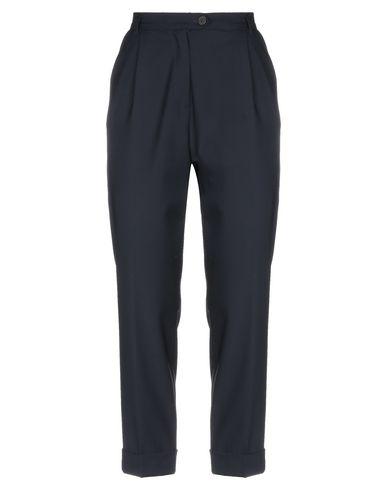 Фото - Повседневные брюки от KEYFIT темно-синего цвета