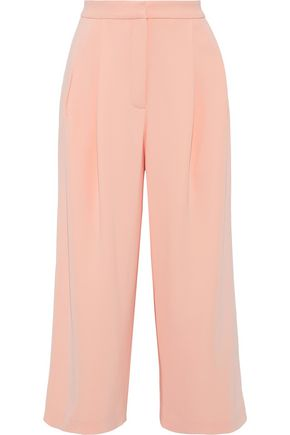 ADAM LIPPES Pleated cady culottes