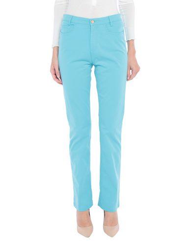 Купить Повседневные брюки от BLUE LES COPAINS бирюзового цвета