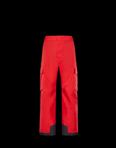 CASUAL TROUSER Red Trousers