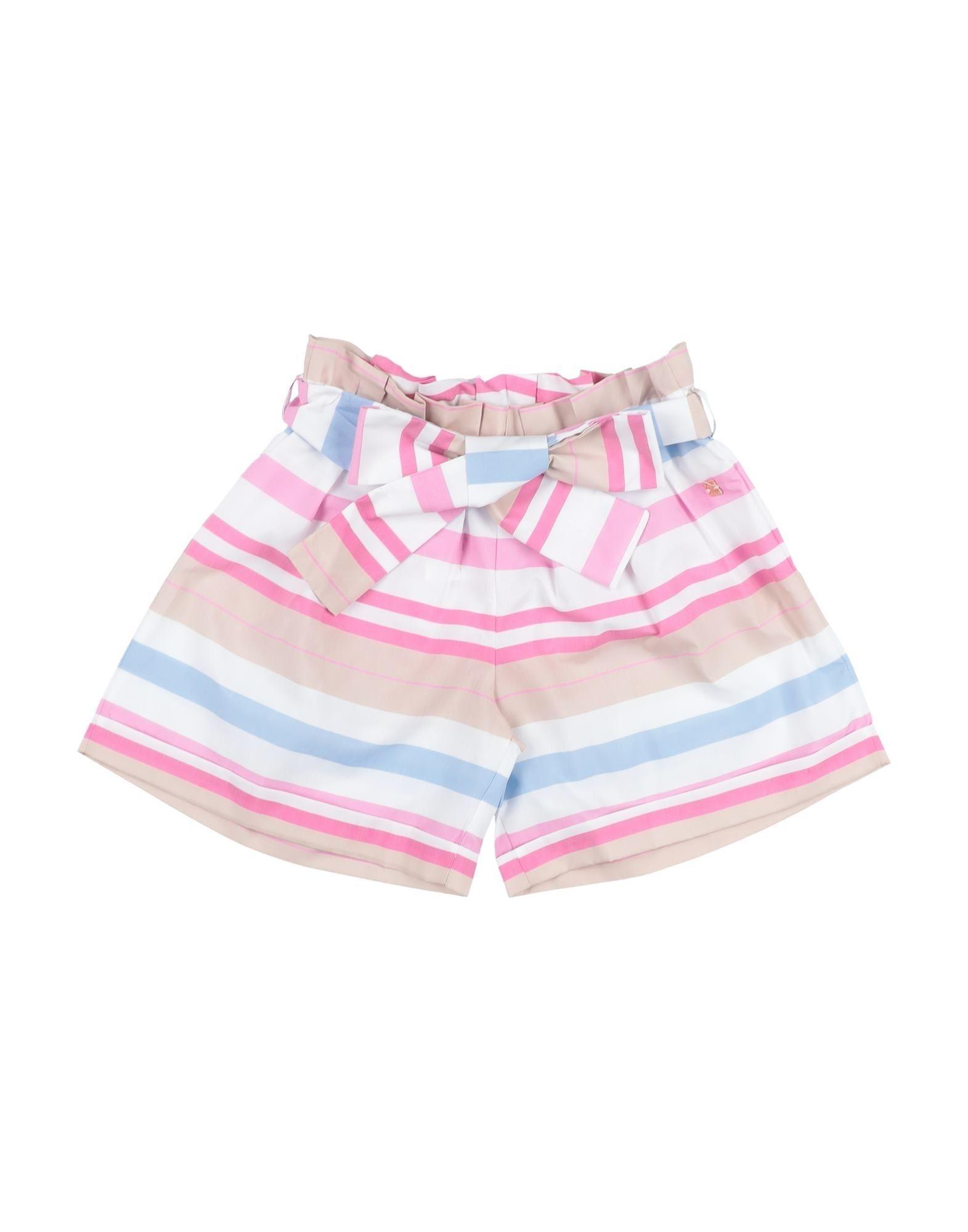 Manila Grace Kids' Shorts In Fuchsia