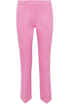 GIAMBATTISTA VALLI Cropped cotton-blend straight-leg pants