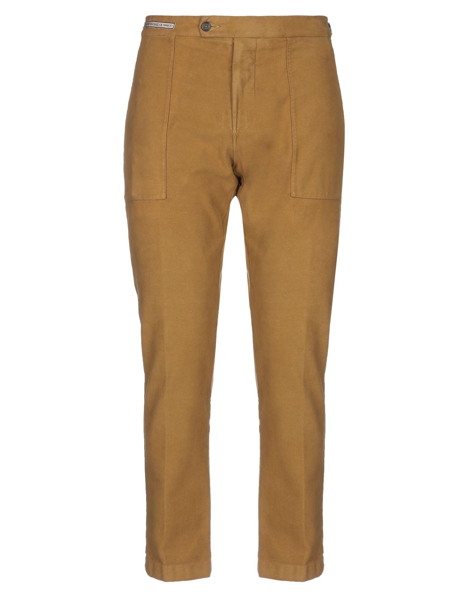 《セール開催中》BERWICH メンズ パンツ キャメル 56 コットン 97% / ポリウレタン 3%
