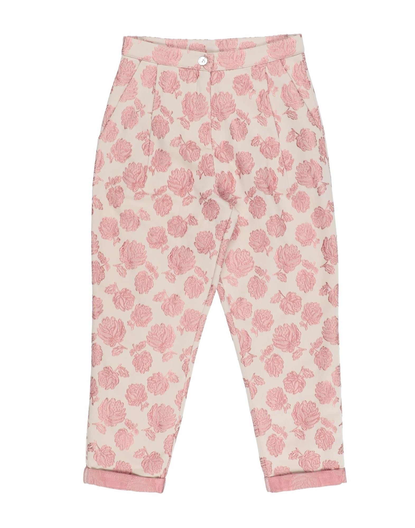 Caffe' D'orzo Kids' Casual Pants In Pink