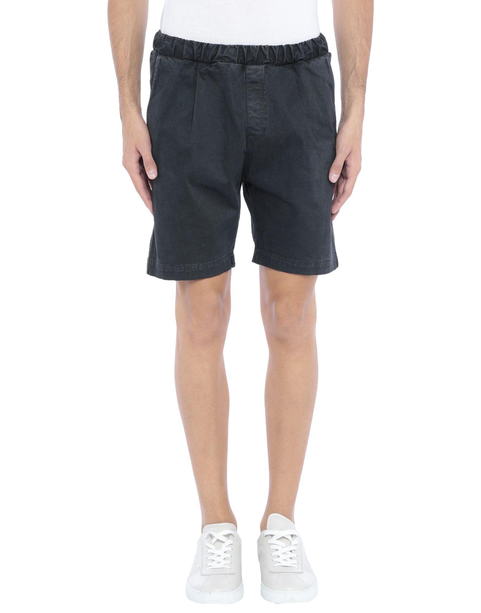 《セール開催中》THE KINGLESS COLLECTIVE メンズ ショートパンツ ブラック M コットン 97% / ポリウレタン 3%