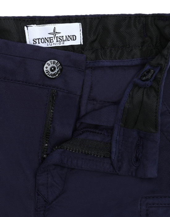 13392668wr - TROUSERS - 5 POCKETS STONE ISLAND JUNIOR
