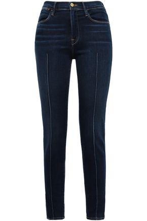 FRAME Banneker high-rise skinny jeans