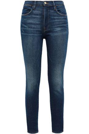 FRAME Clipper Street high-rise skinny jeans