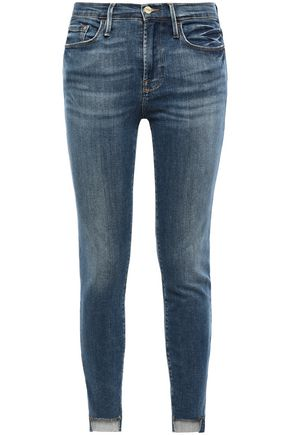 FRAME Capa May mid-rise skinny jeans