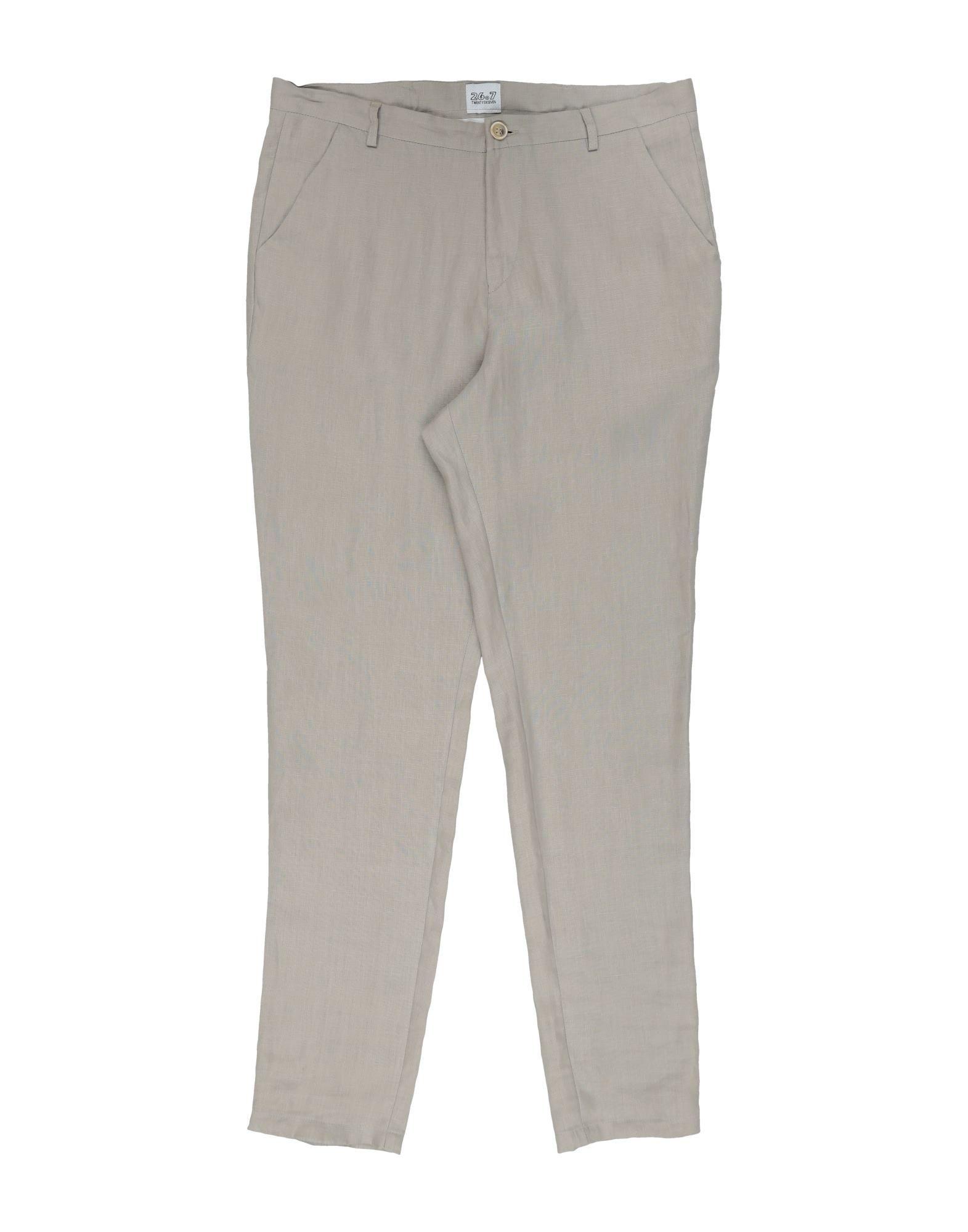 26.7 Twentysixseven Kids' Casual Pants In Light Grey