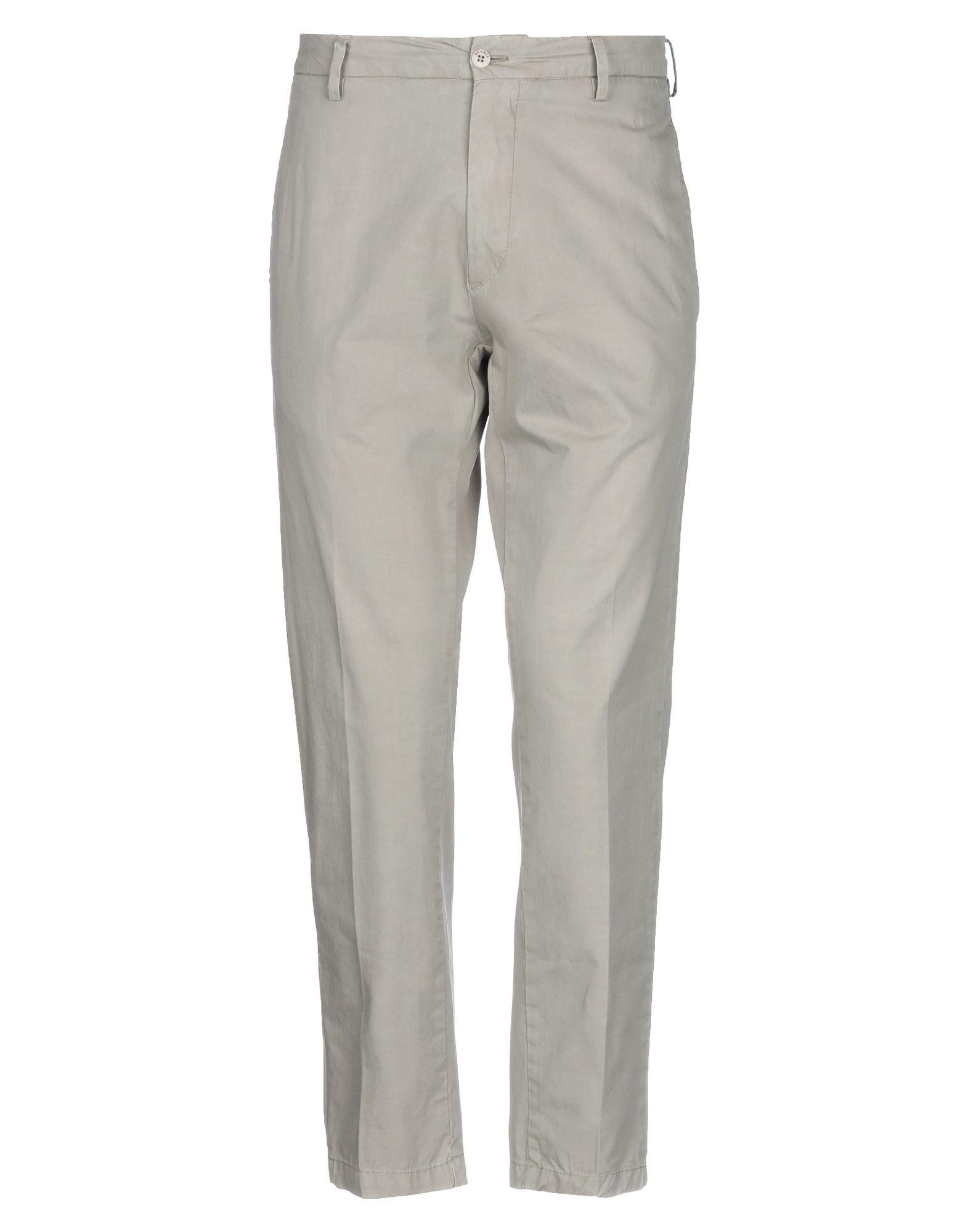 《セール開催中》BE ABLE メンズ パンツ グレー 32 コットン 100%