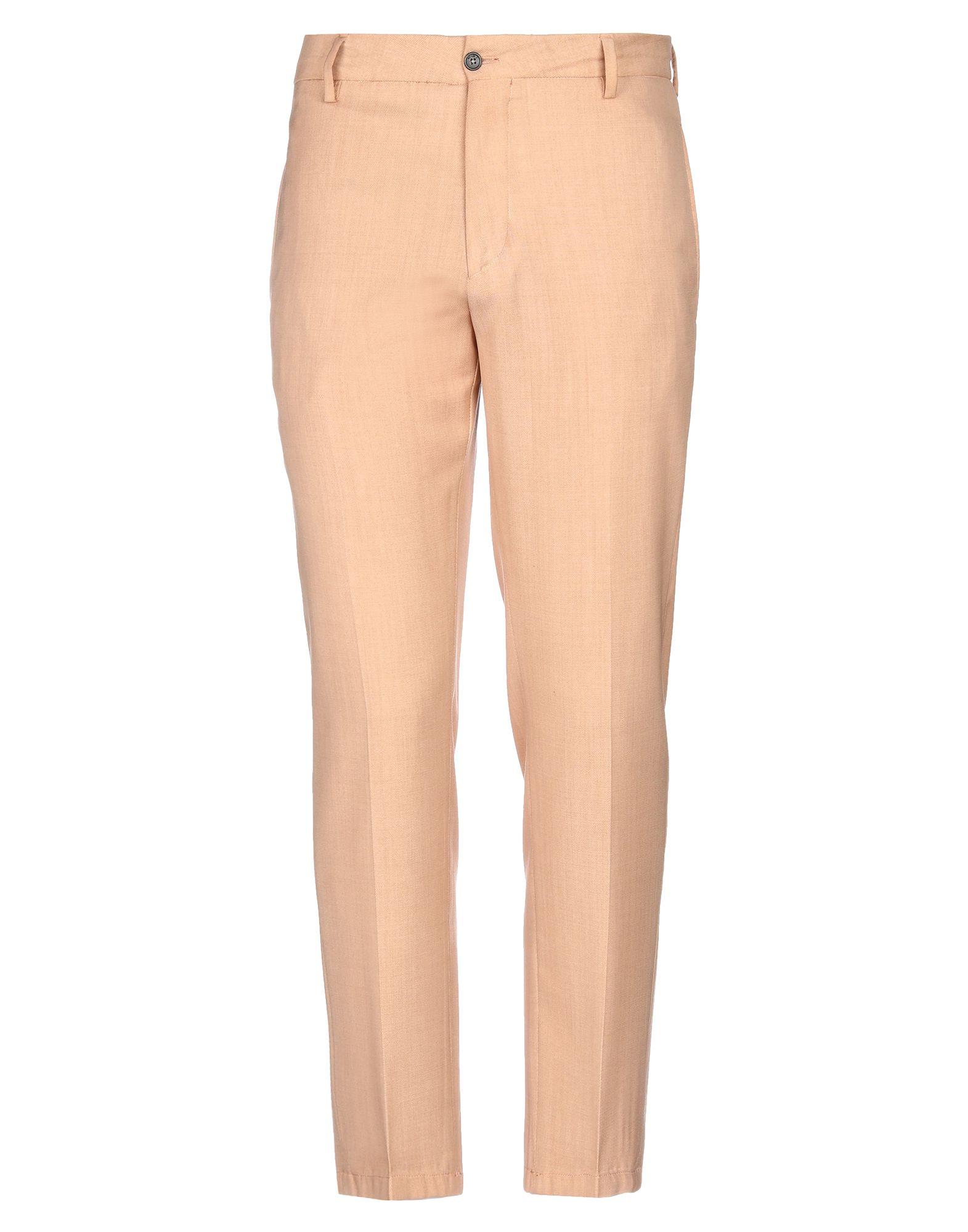 《セール開催中》BE ABLE メンズ パンツ キャメル 33 バージンウール 100%