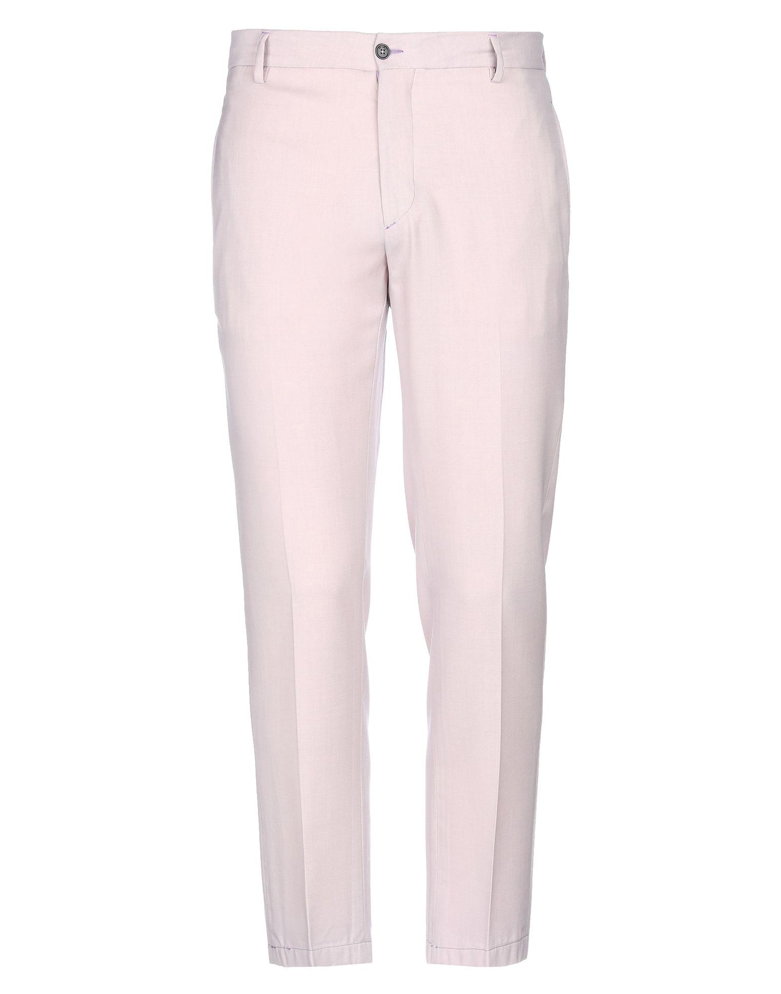 《セール開催中》BE ABLE メンズ パンツ ピンク 32 バージンウール 100%