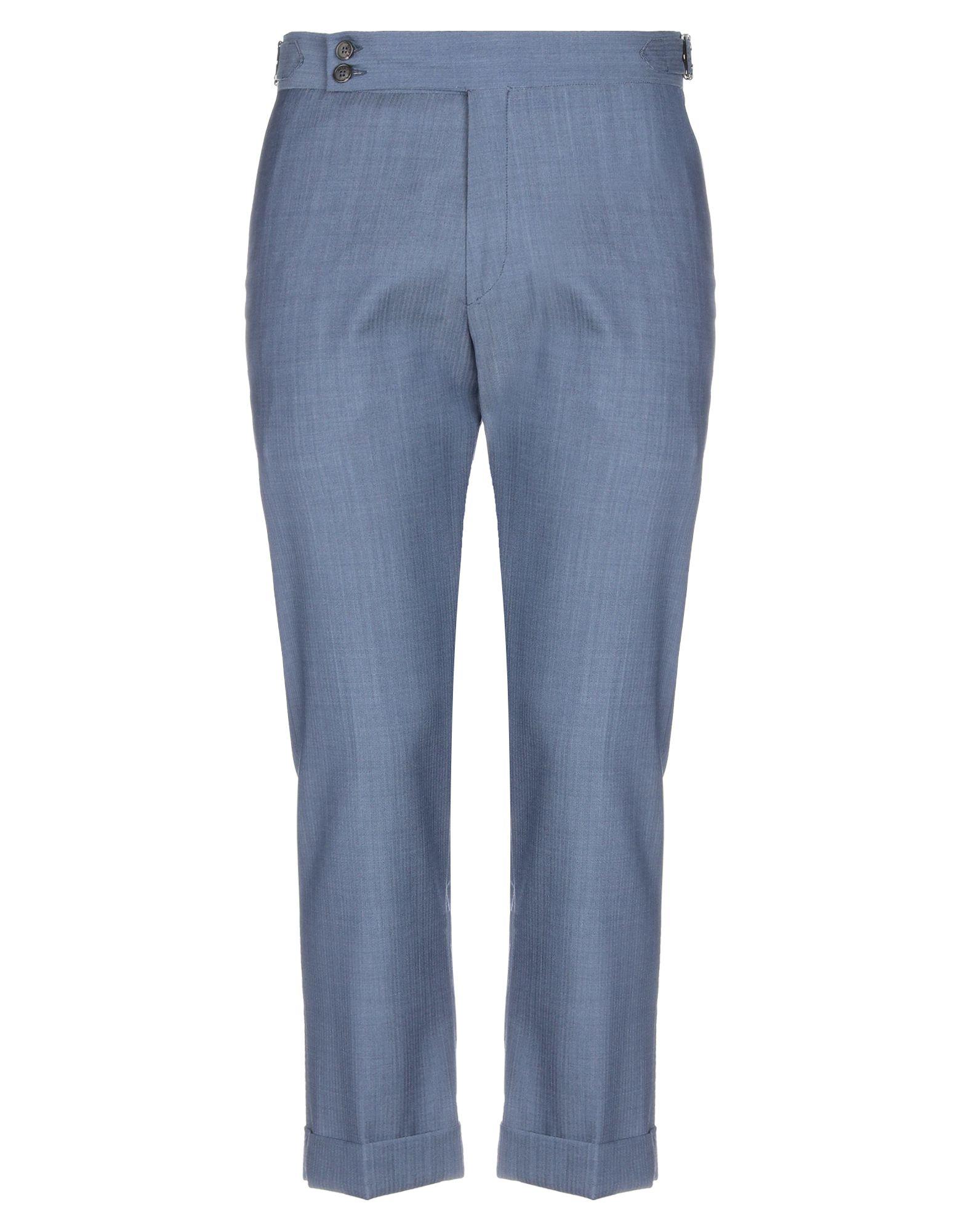 《セール開催中》BE ABLE メンズ パンツ ブルーグレー 33 コットン 100%