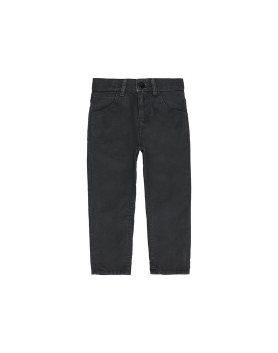 STONE ISLAND BABY TROUSERS - 5 POCKETS J0210 CANVAS PLACCATO