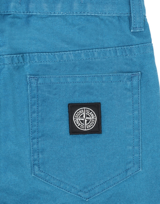 13393741is - TROUSERS - 5 POCKETS STONE ISLAND JUNIOR