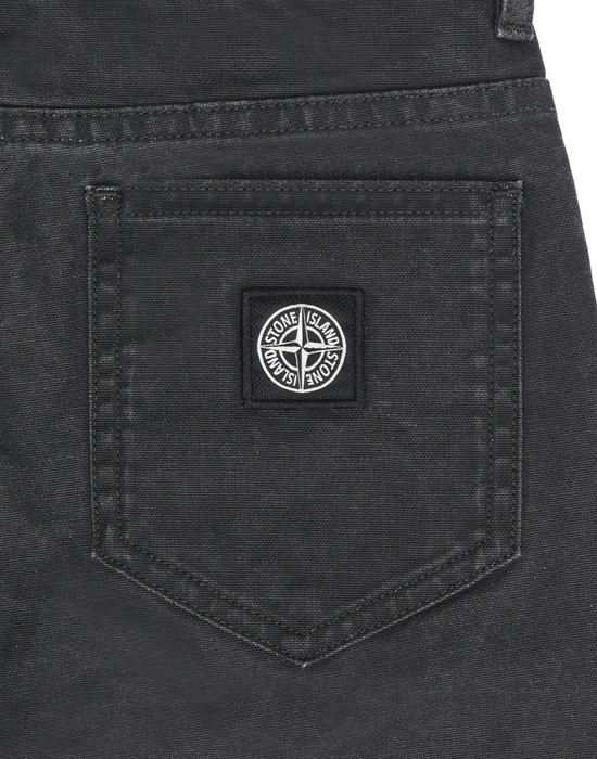 13393754dl - TROUSERS - 5 POCKETS STONE ISLAND JUNIOR