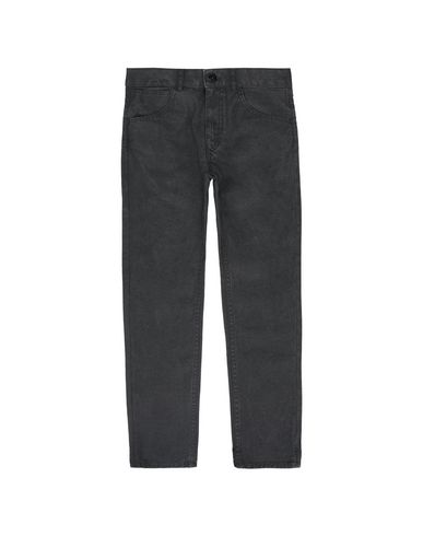 STONE ISLAND JUNIOR PANTS - 5 POCKETS Man J0210 CANVAS PLACCATO  f