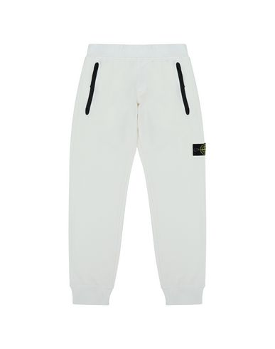 STONE ISLAND JUNIOR Fleece Pants Man 61642  f