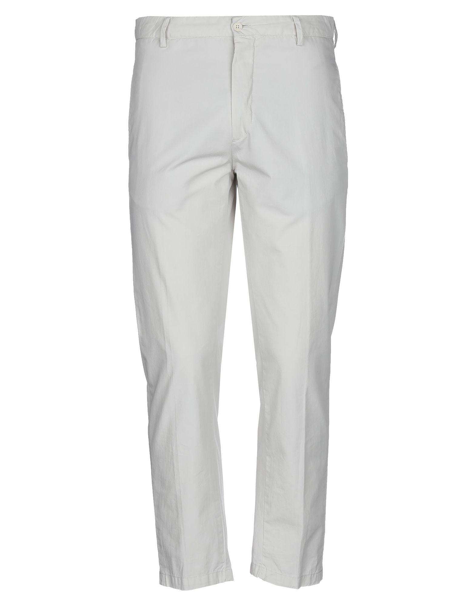 《セール開催中》BE ABLE メンズ パンツ ライトグレー 32 コットン 100%