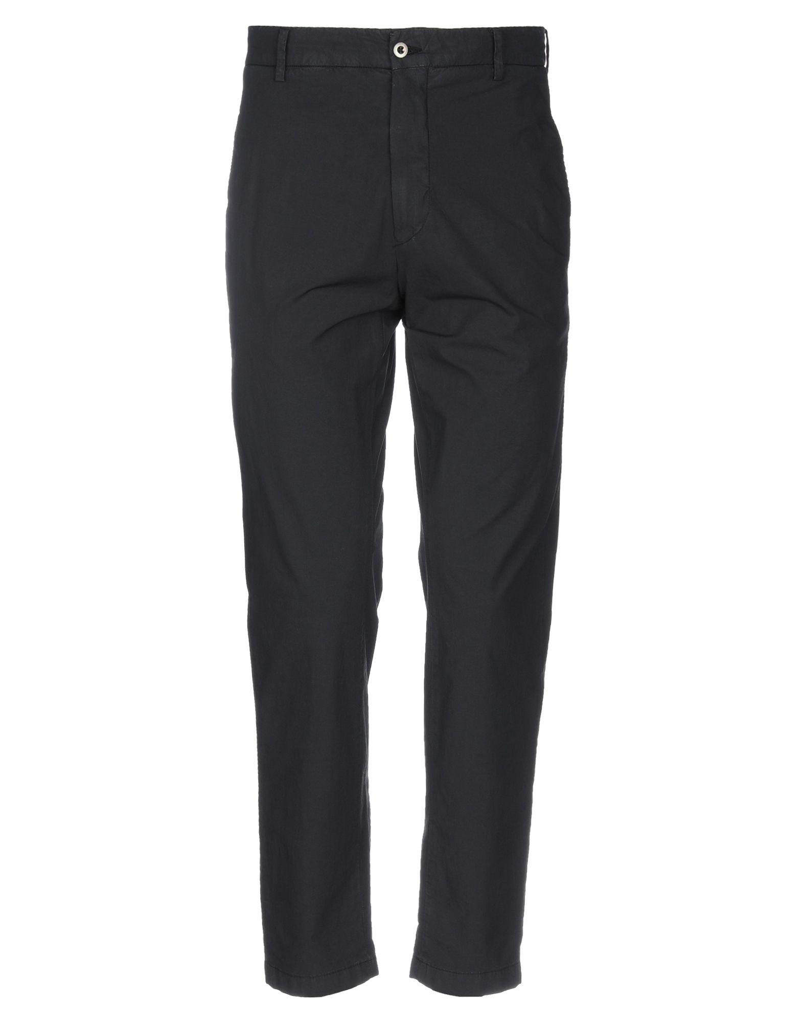 《セール開催中》BE ABLE メンズ パンツ ブラック 30 コットン 100%
