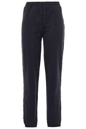MISSONI MARE Mare French cotton-terry track pants