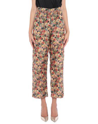 Фото 2 - Повседневные брюки от MOMONÍ зеленого цвета