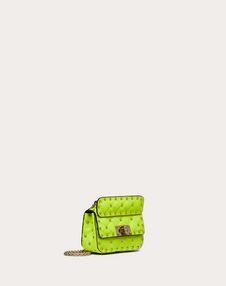 Micro Rockstud Spike Fluo Calfskin Bag SS20 Runway Preview