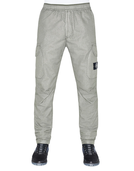 STONE ISLAND 32398 REFLECTIVE WEAVE RIPSTOP-TC Trousers Man