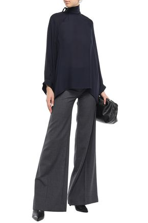NILI LOTAN Irene wool-twill wide-leg pants