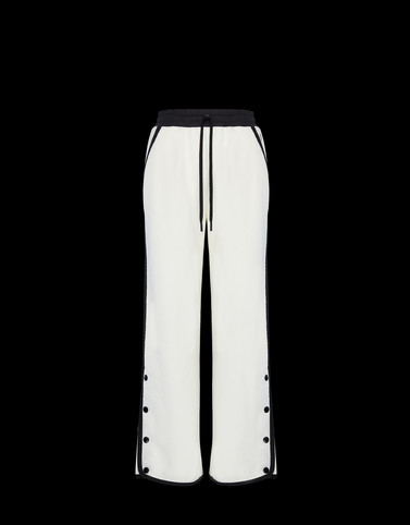 CASUAL TROUSER Ivory Trousers Woman