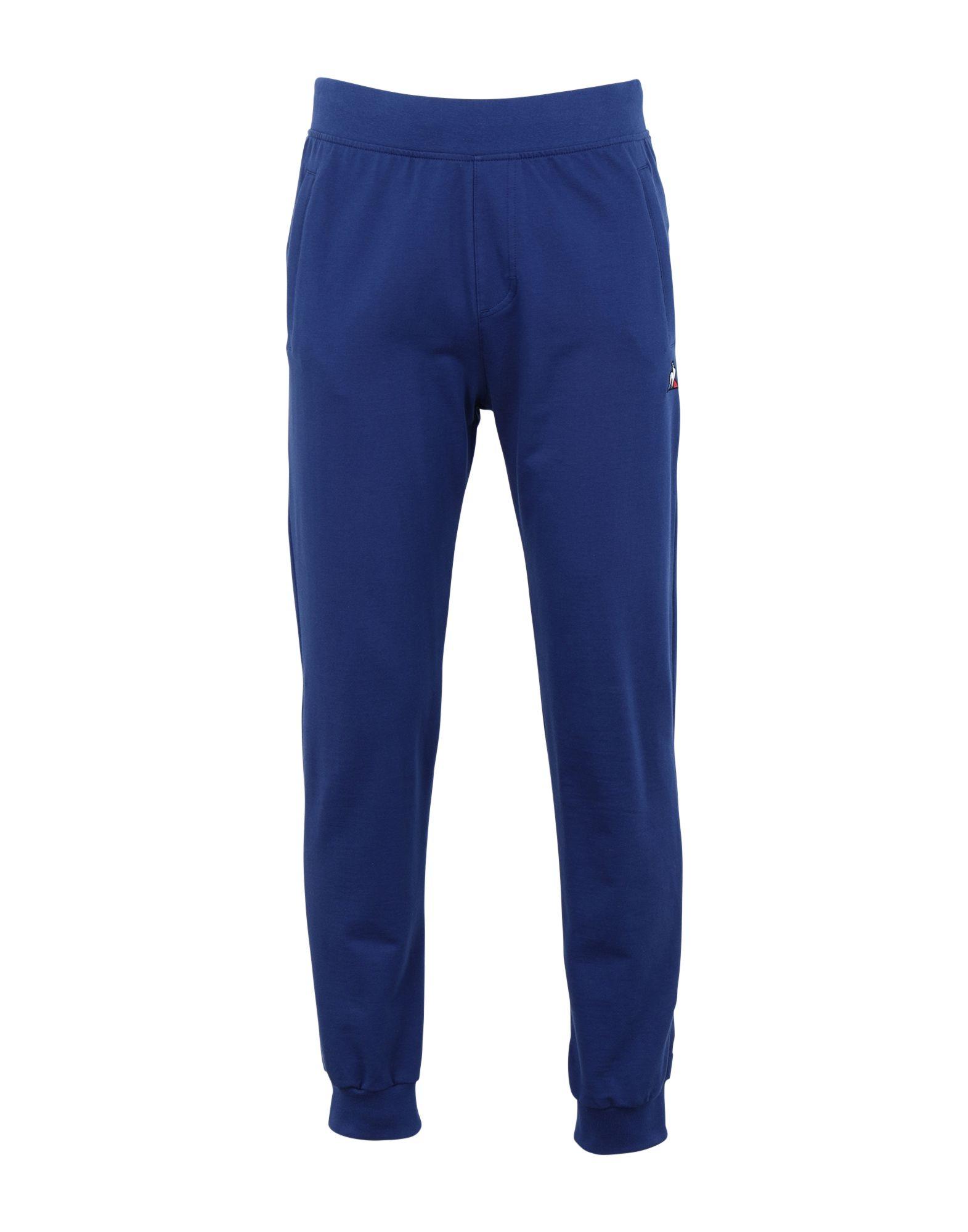 《セール開催中》LE COQ SPORTIF メンズ パンツ ブルー M コットン 100% ESS SAISON Pant Slim N°1 M