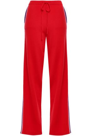 CHINTI & PARKER Cashmere and wool-blend straight-leg pants
