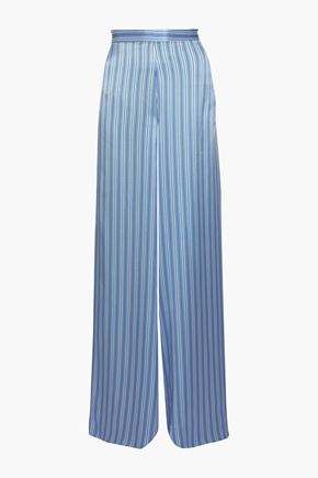 CAMI NYC The Tommy silk-charmeuse wide-leg pants