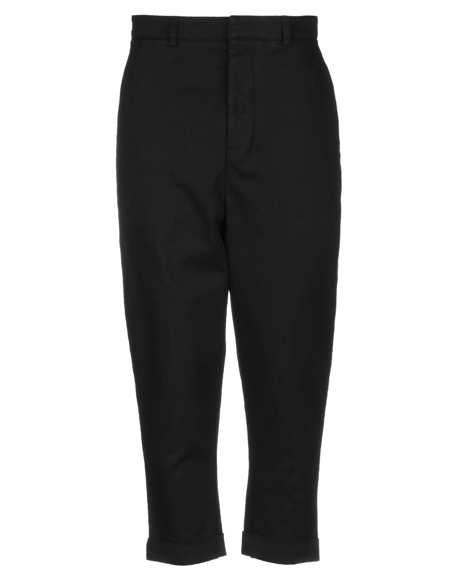 《期間限定セール開催中!》AMI ALEXANDRE MATTIUSSI メンズ パンツ ブラック M コットン 100%