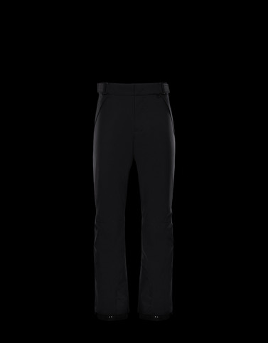 CASUAL TROUSER Black Grenoble Trousers