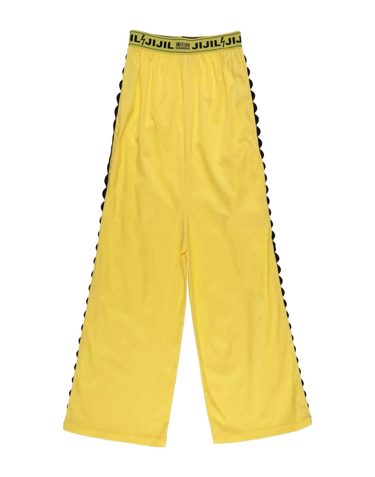 Jijil Jolie Kids' Casual Pants In Yellow