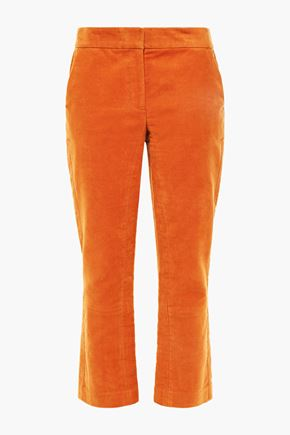 TORY BURCH Khloe cropped bootcut pants