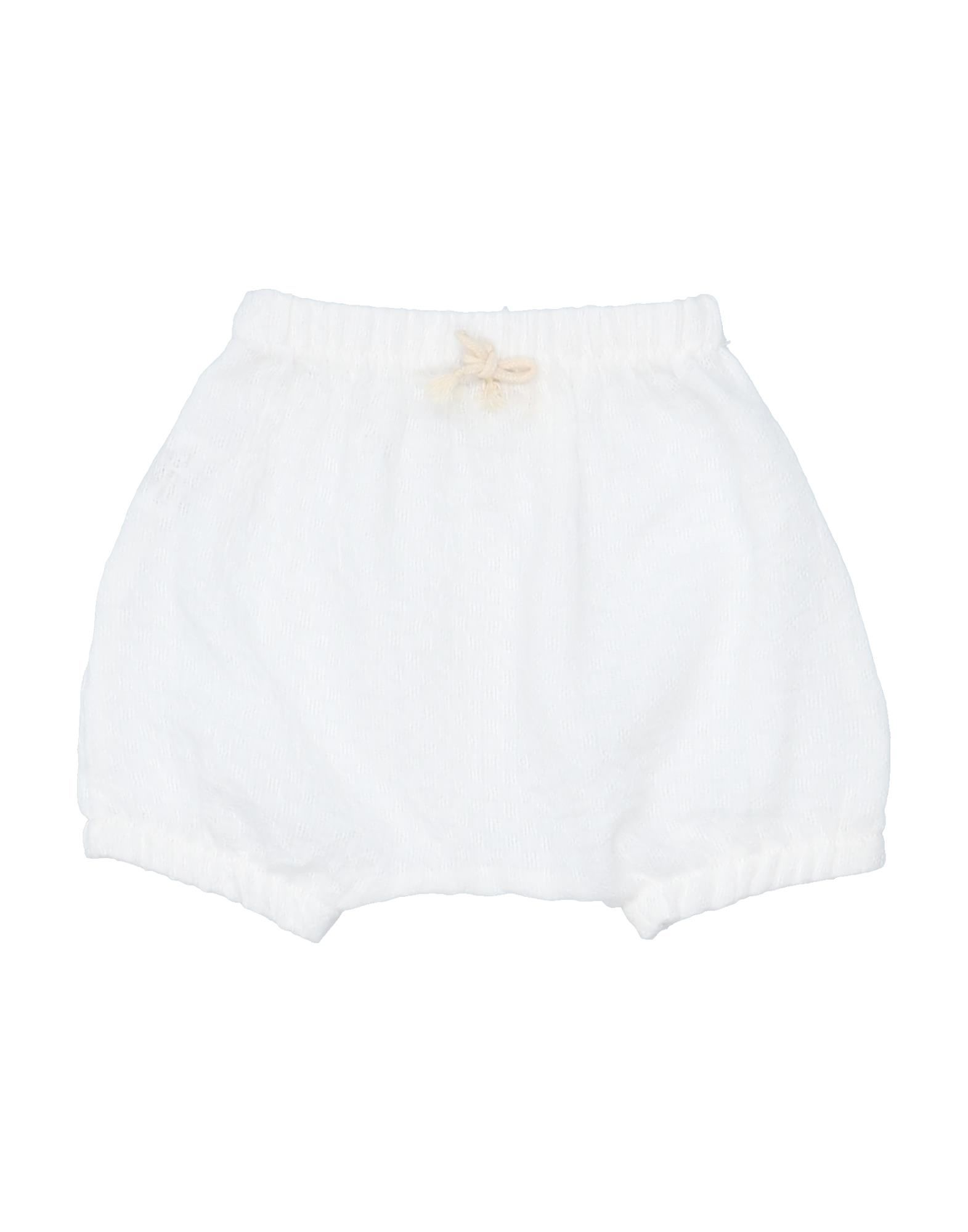 1+ In The Family Kids' Shorts In White