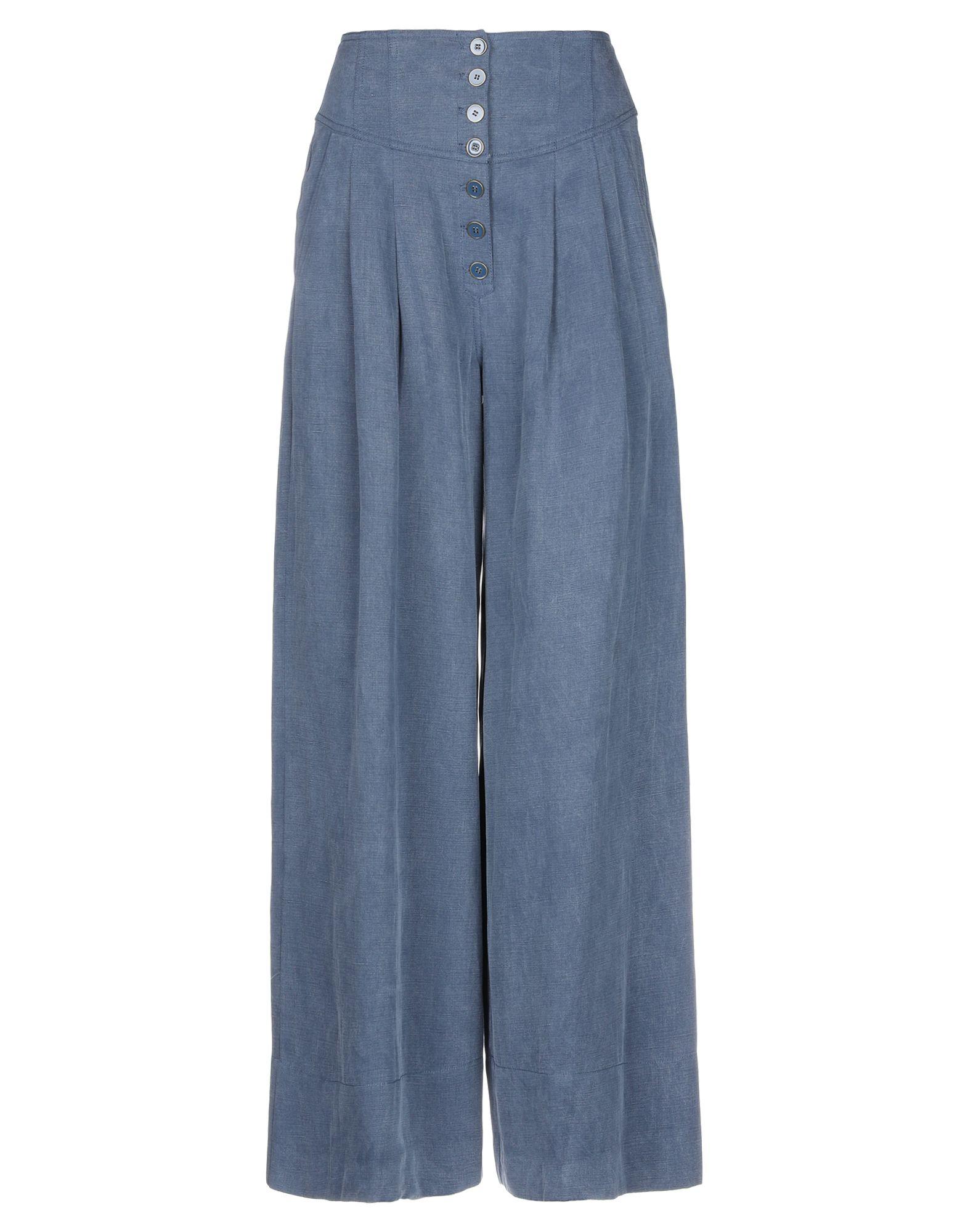 цена ULLA JOHNSON Повседневные брюки онлайн в 2017 году