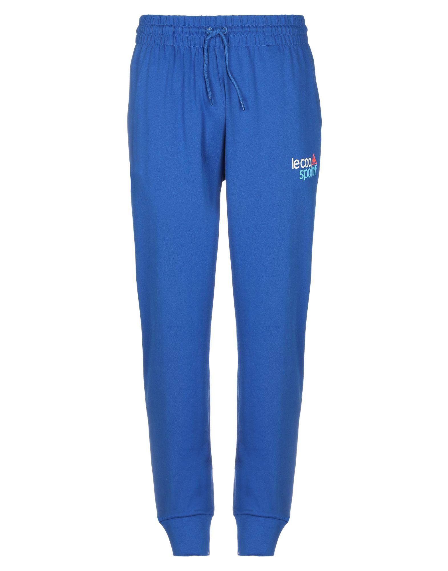 《セール開催中》LE COQ SPORTIF メンズ パンツ ブルー L コットン 100%