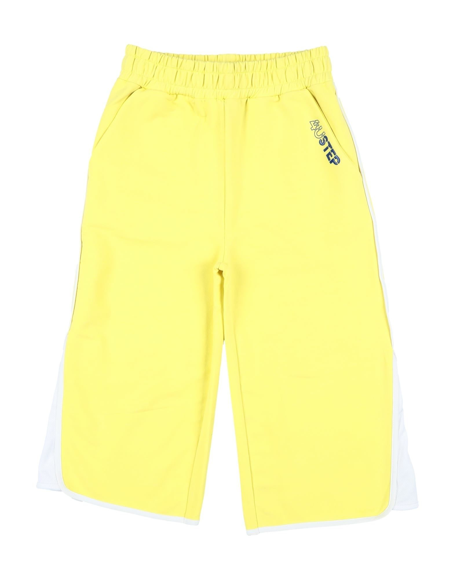 4ustep Kids' Casual Pants In Yellow