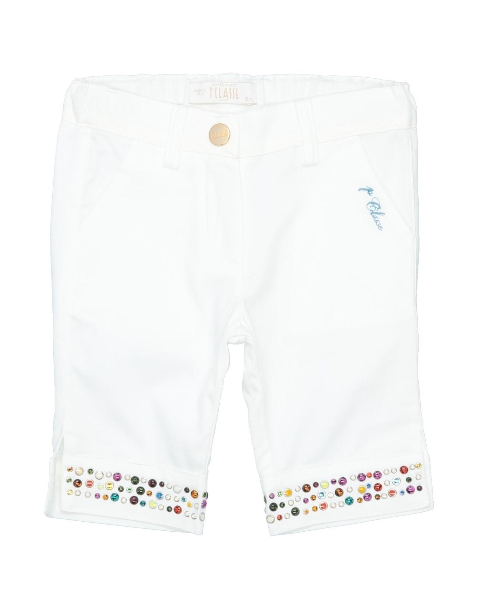 Alviero Martini 1a Classe Kids' Casual Pants In White