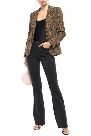 Joie Jeans JOIE WOMAN EILENA HIGH-RISE FLARED JEANS BLACK