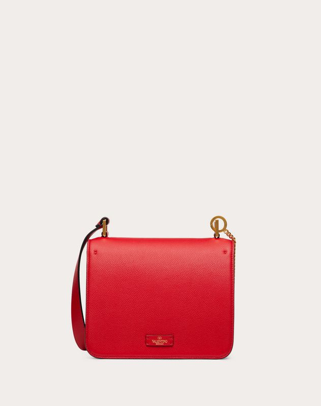 VSLING Grainy Calfskin Shoulder Bag