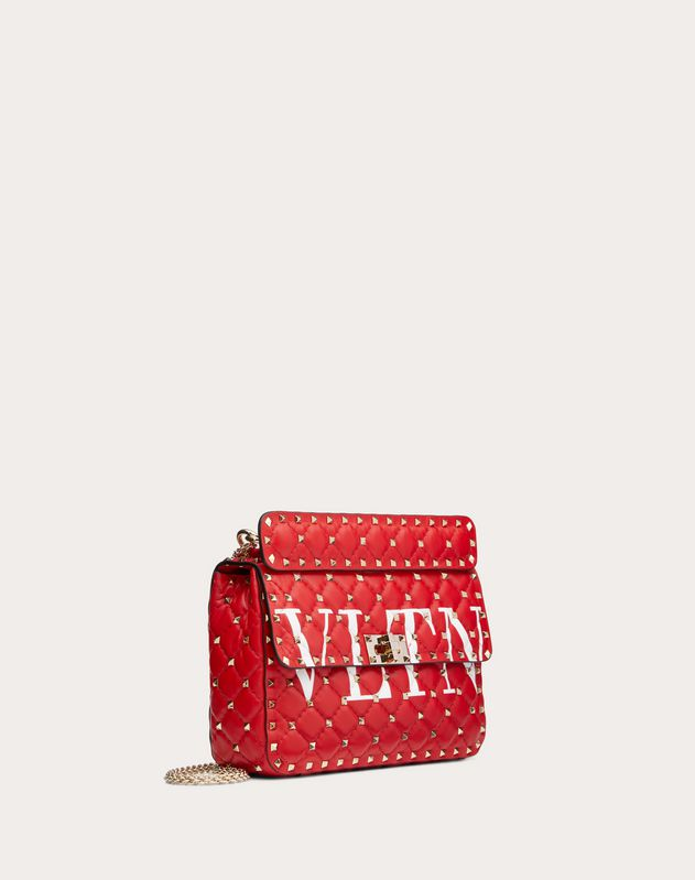 Medium Rockstud Spike.It VLTN Nappa Leather Bag