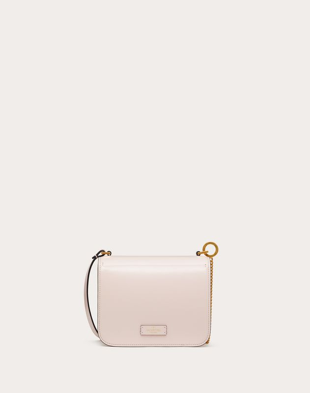 Small VSLING Shiny Calfskin Shoulder Bag