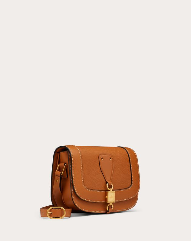 VLOCKER Grainy Calfskin Crossbody Bag